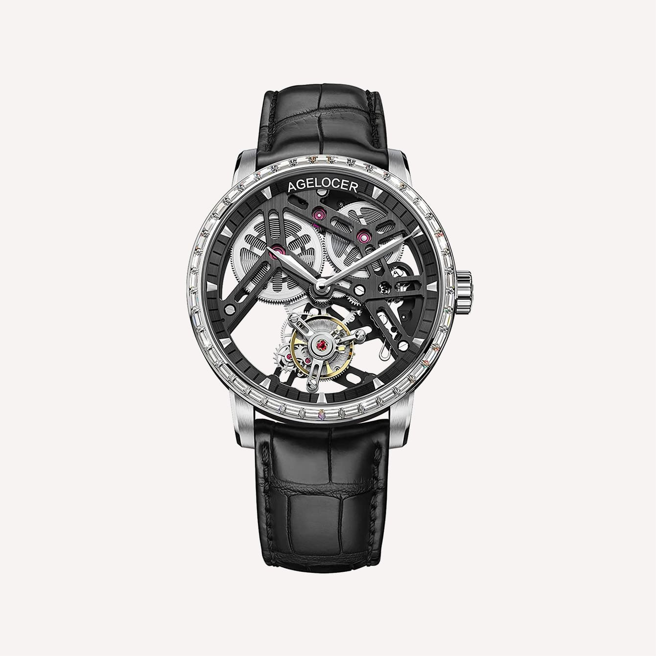 Agelocer Mens Top Brand Fashion Luxury Watch