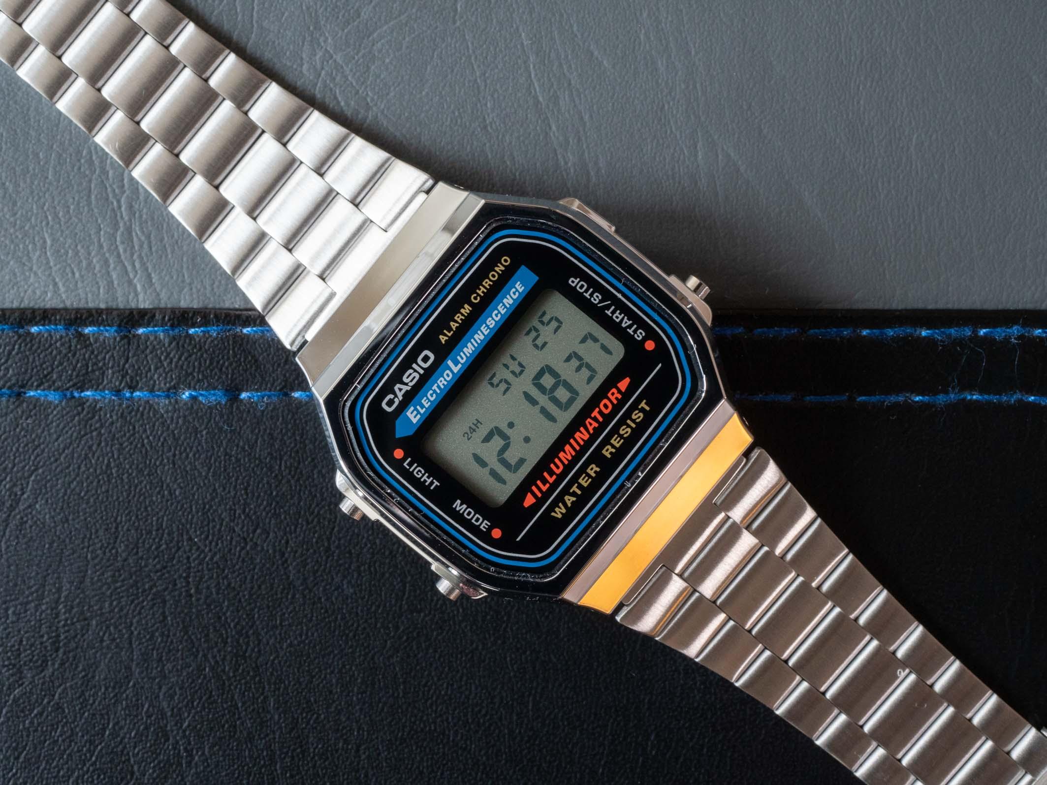 Casio A168 digital watch