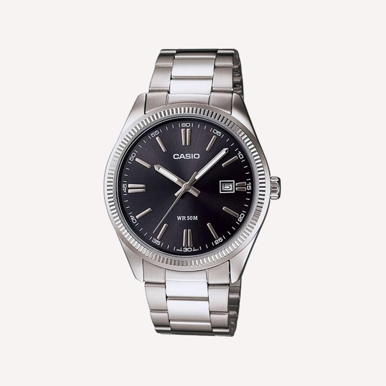 Casio datejust Classic Silver Watch MTP1302D 1A1