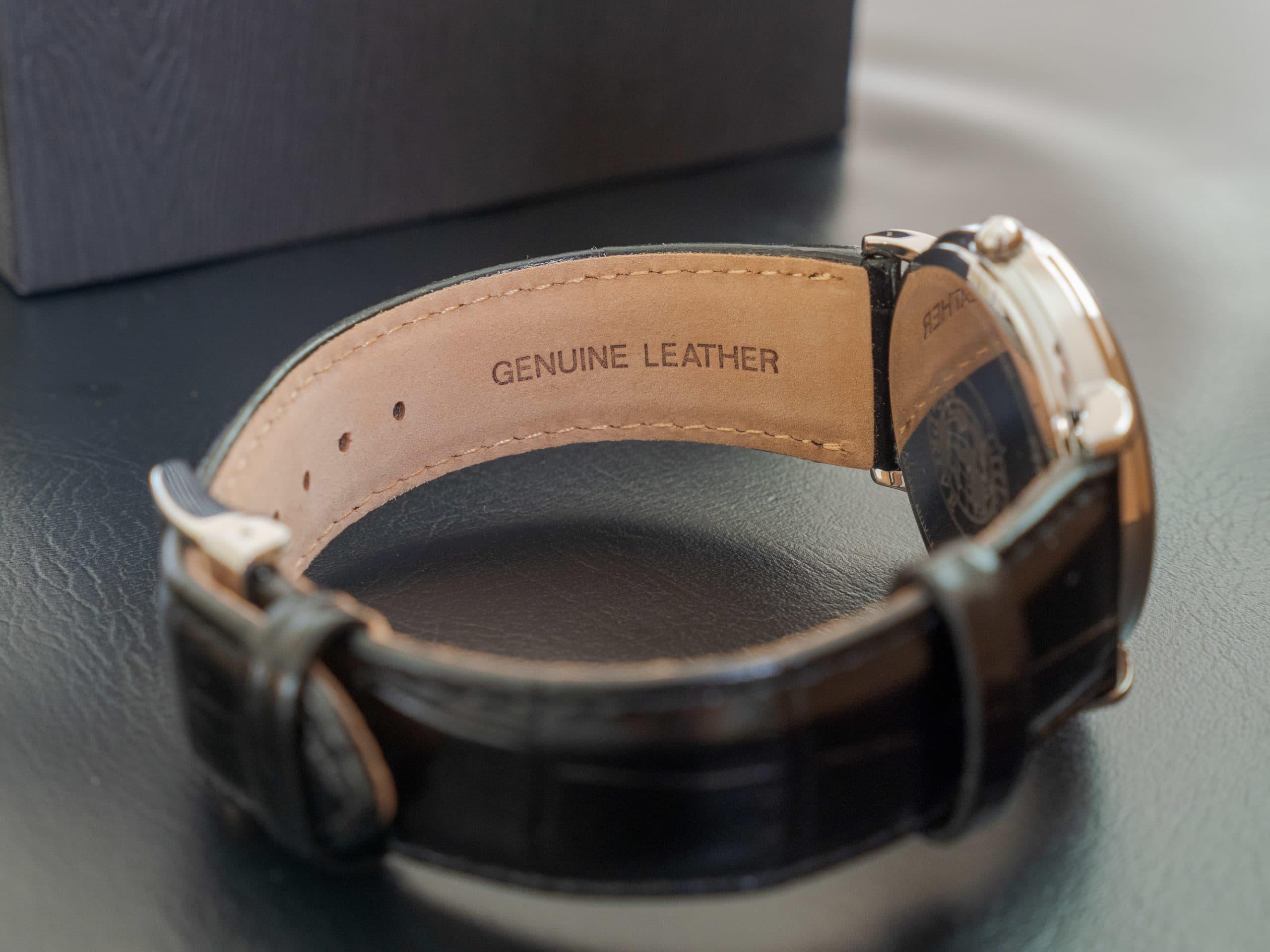 Citizen BM8240 03E genuine leather