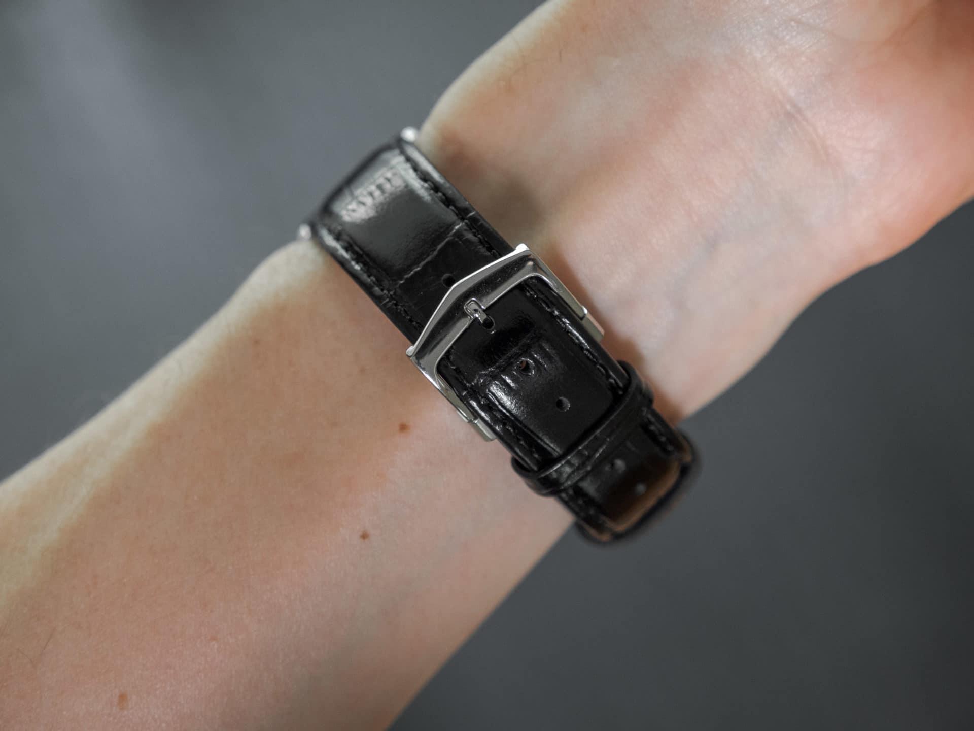 Citizen BM8240 03E strap on wrist