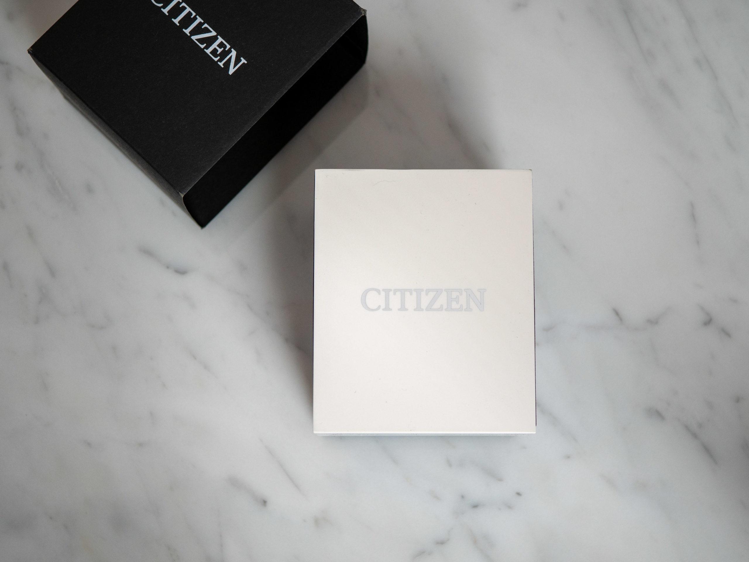 Citizen Chandler Field Watch unboxing 2