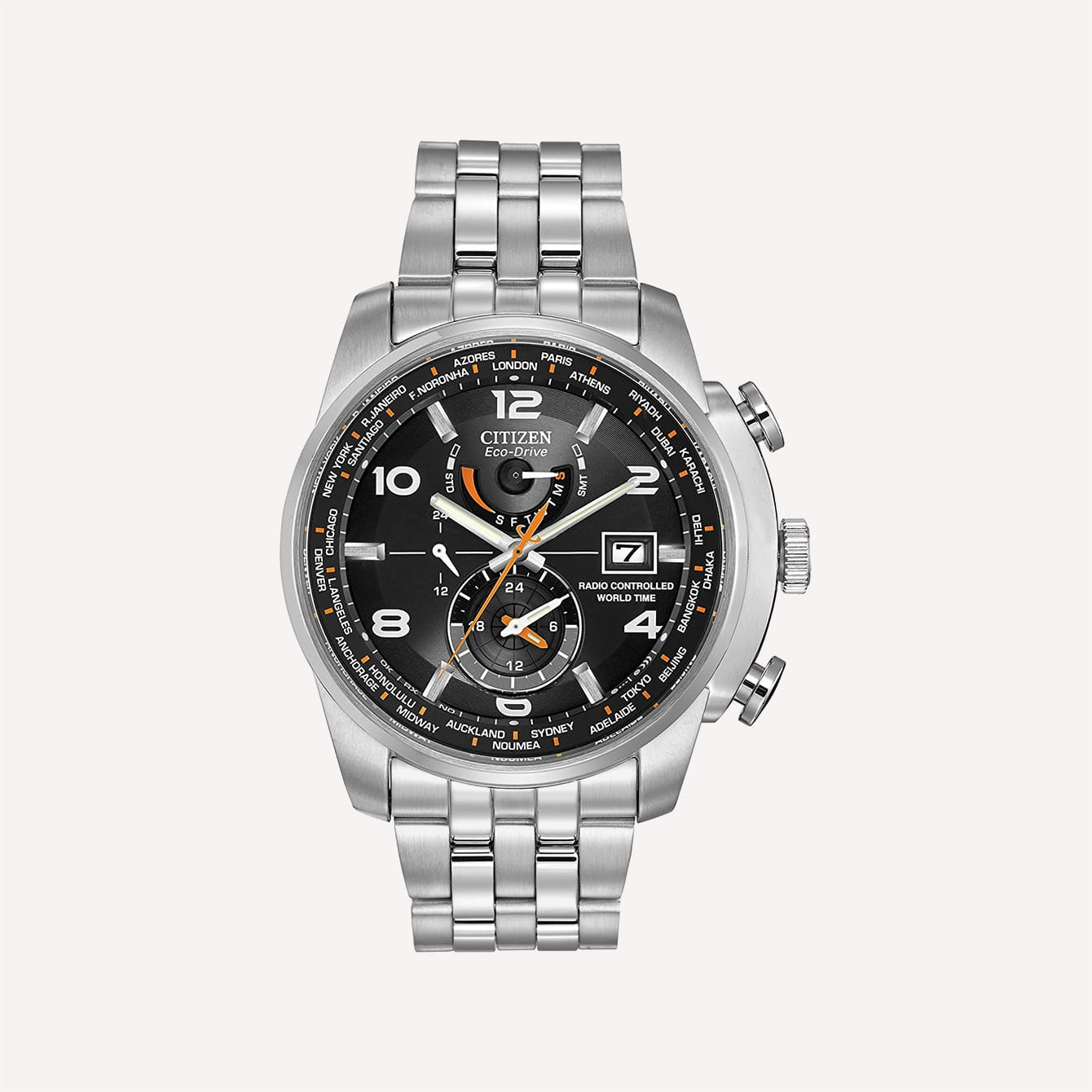 Citizen Watches AT9010 52E Time Zones Watch