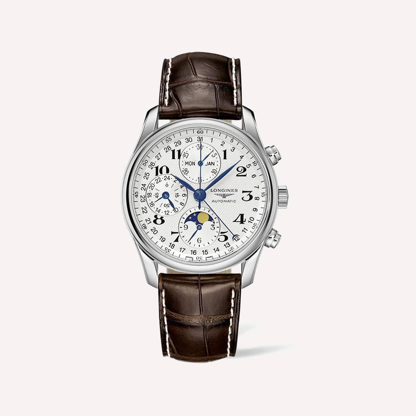 Leaf or Feuille Hands Longines Mens Watches Master Collection L2.673.4.78.3 WW
