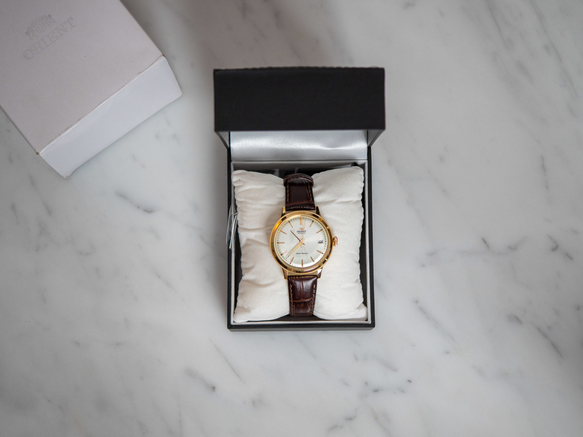 Orient Bambino 36 unboxing 3