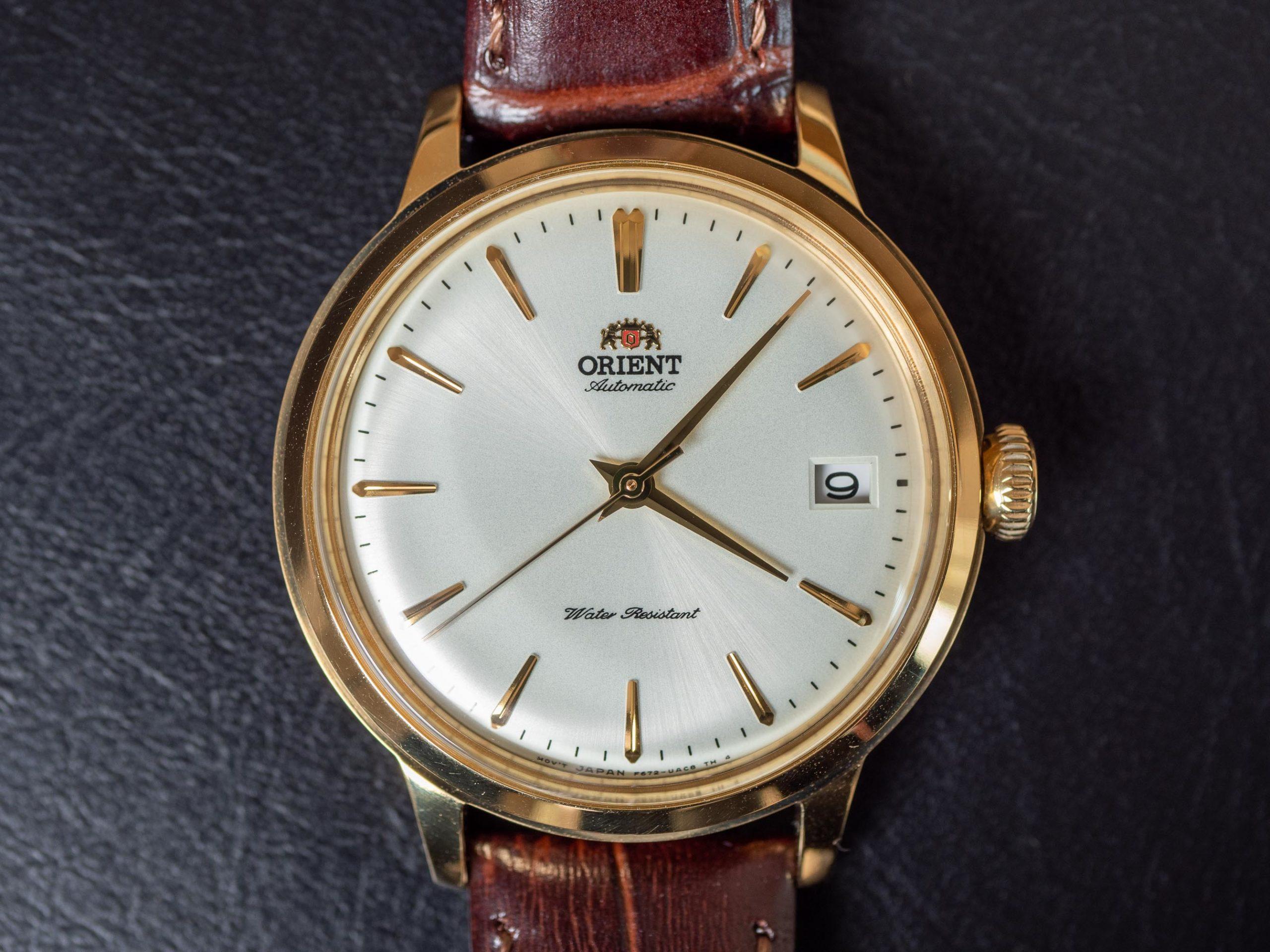 Orient Bambino 36 white dial