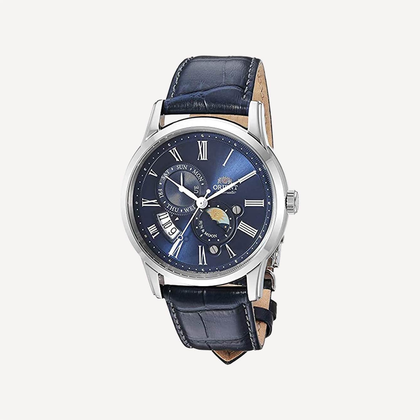 Orient Mens Sun and Moon Version 3 Japanese Automatic Watch