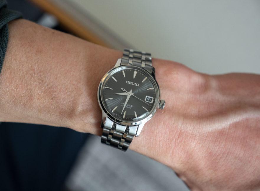 Seiko Presage SRP837J1 on wrist 3