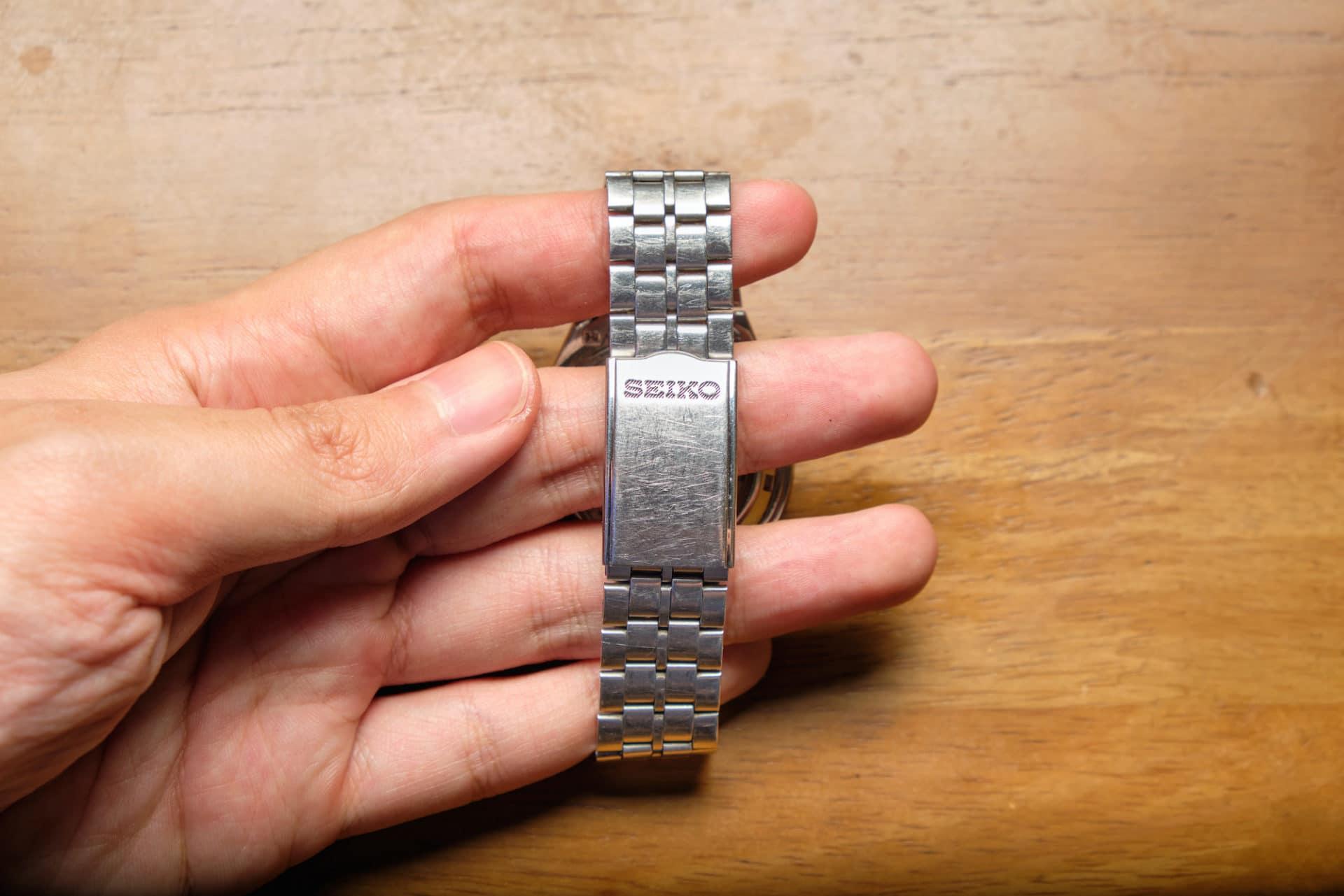 Seiko SKXG67 bracelet