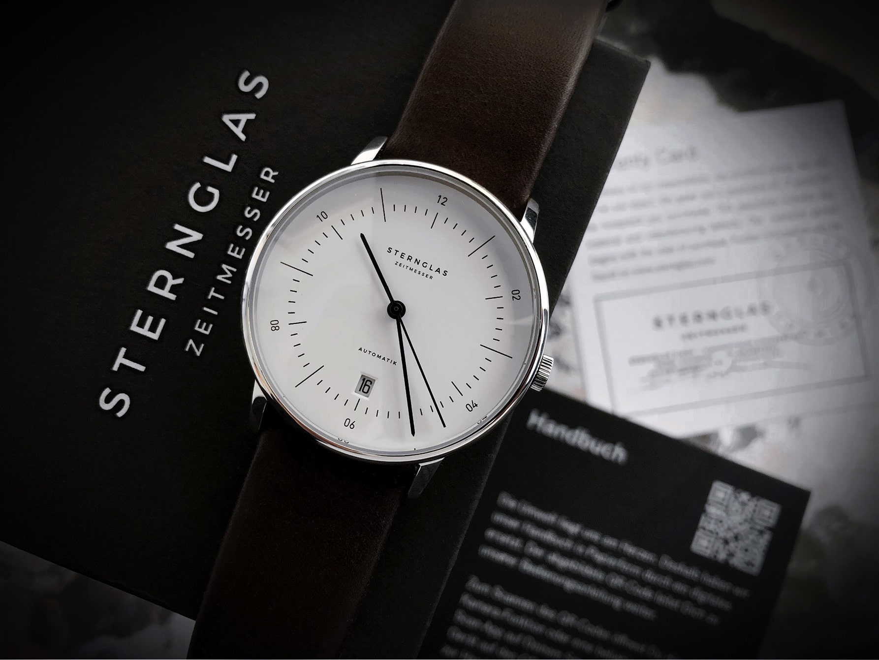 Sternglas Naos Automatic with box