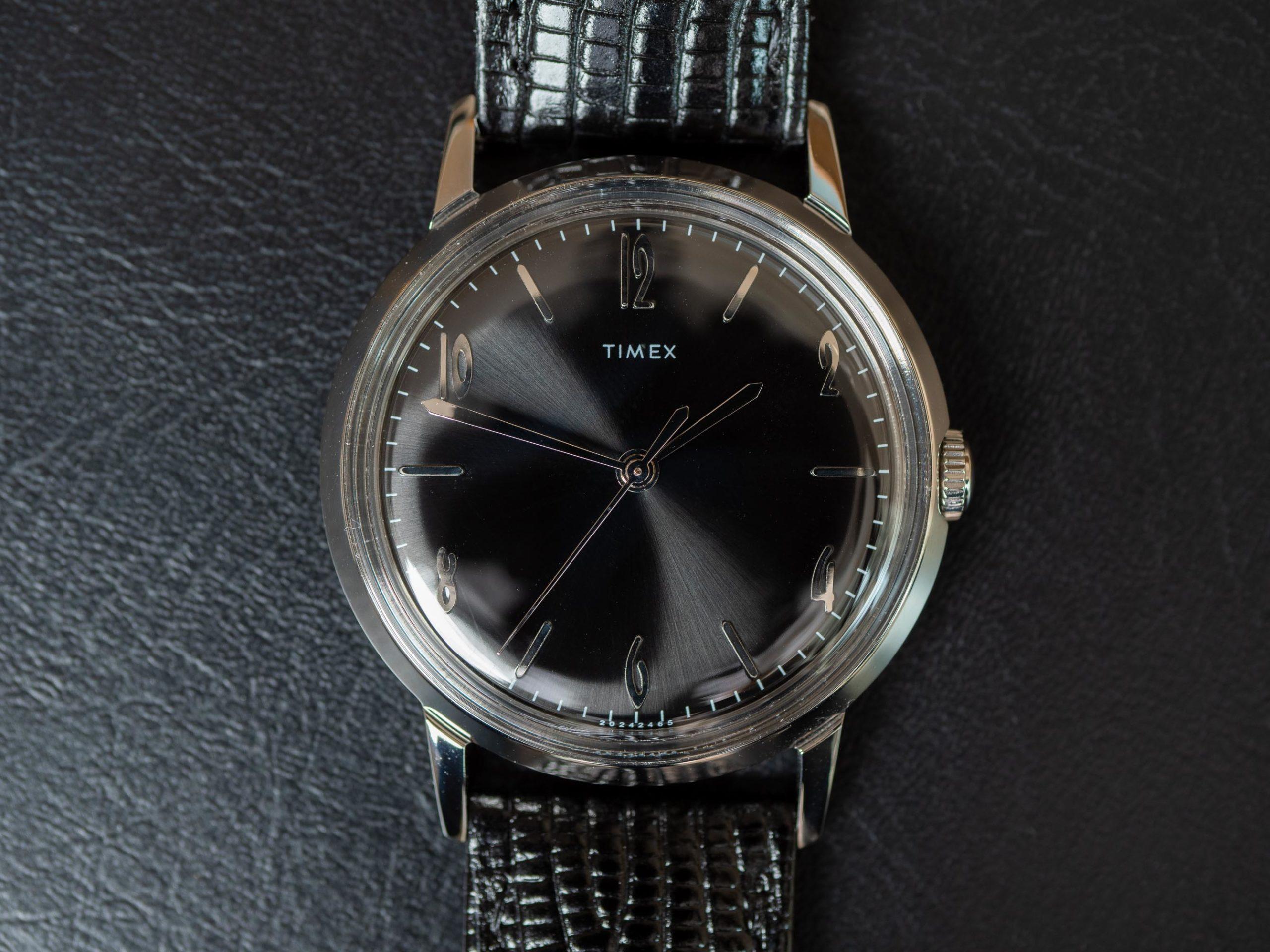 Timex Marlin 34 face