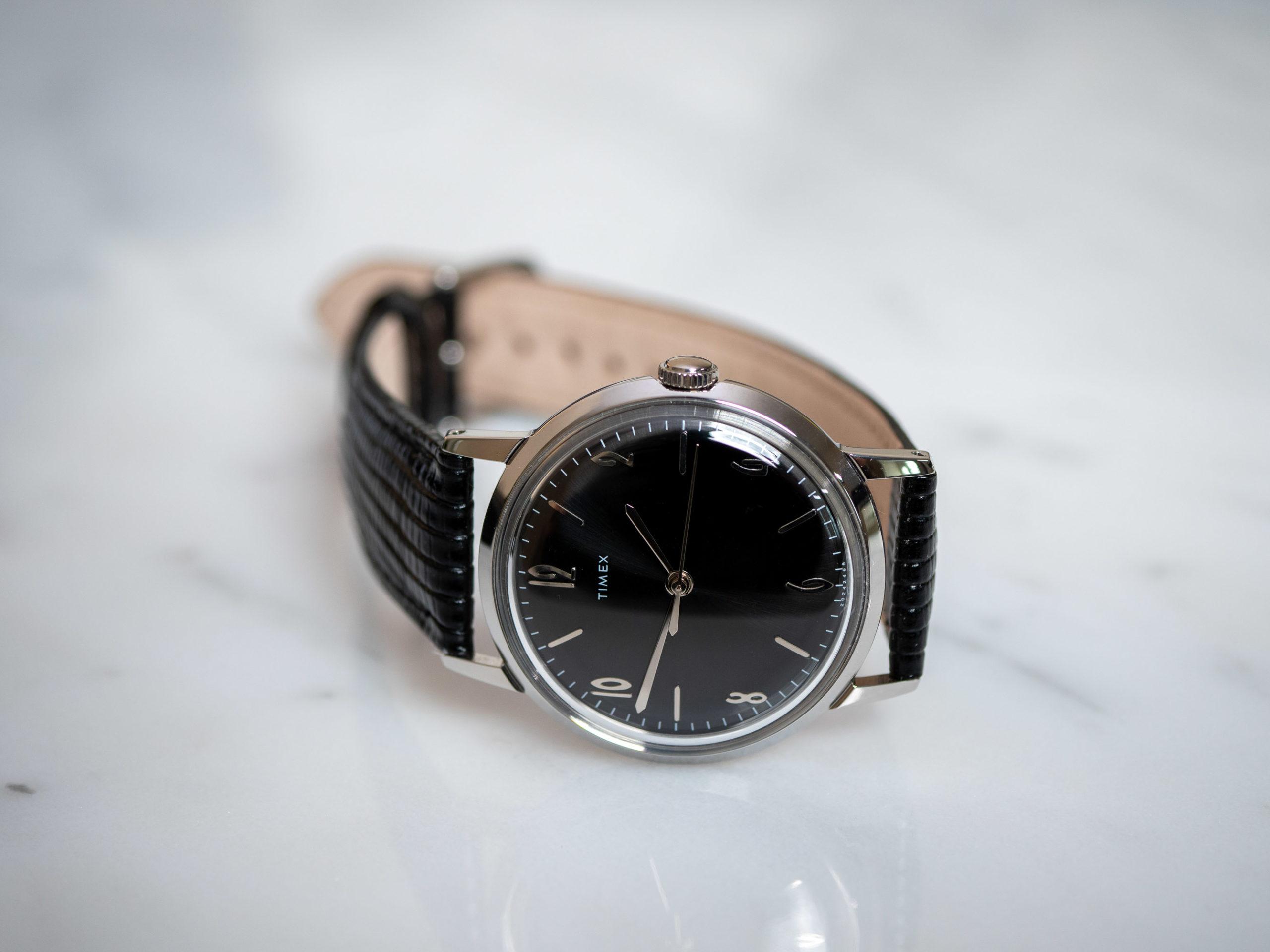 Timex Marlin 34 on side