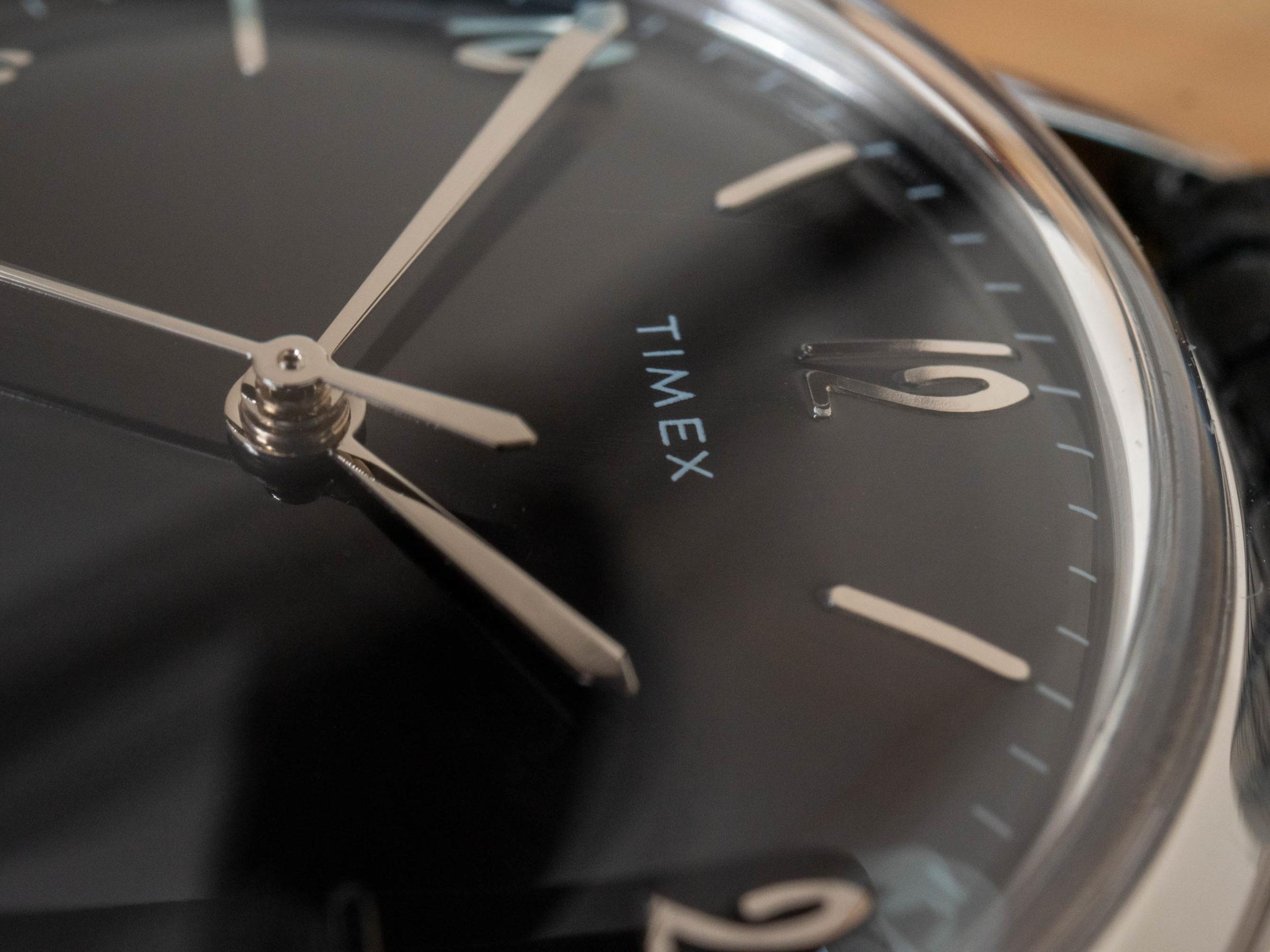 Timex Marlin dial logo