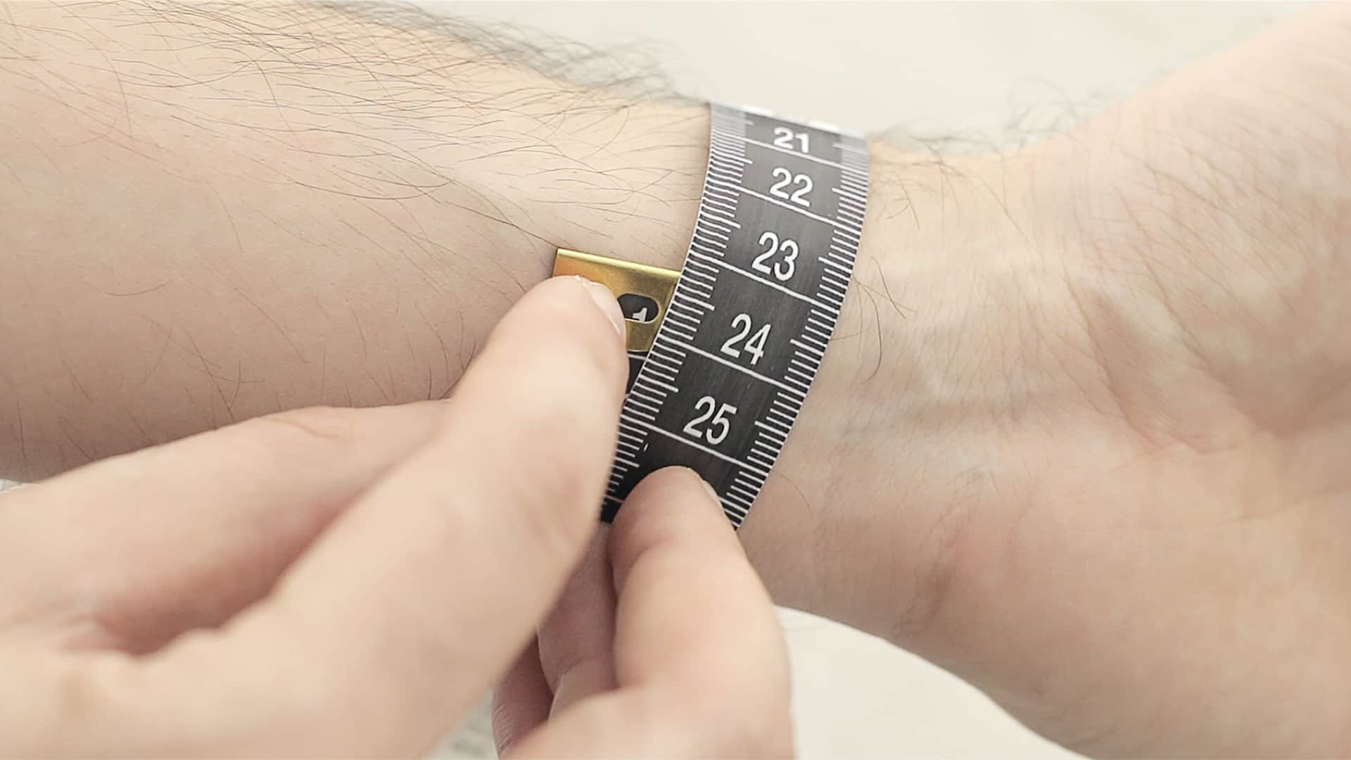 How to measure your wrist Item is not for sale!