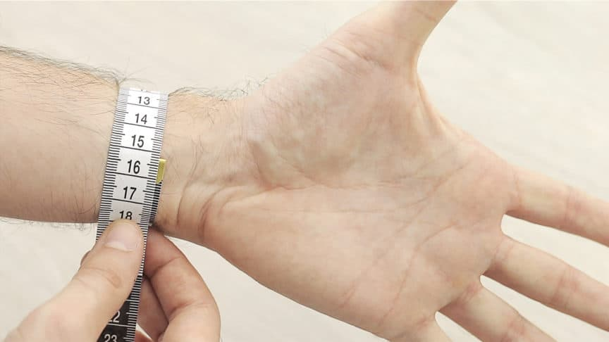 How To Measure Your Wrist Size