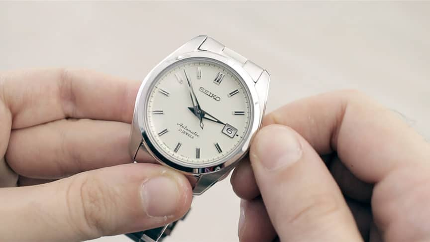 Winding A Watch