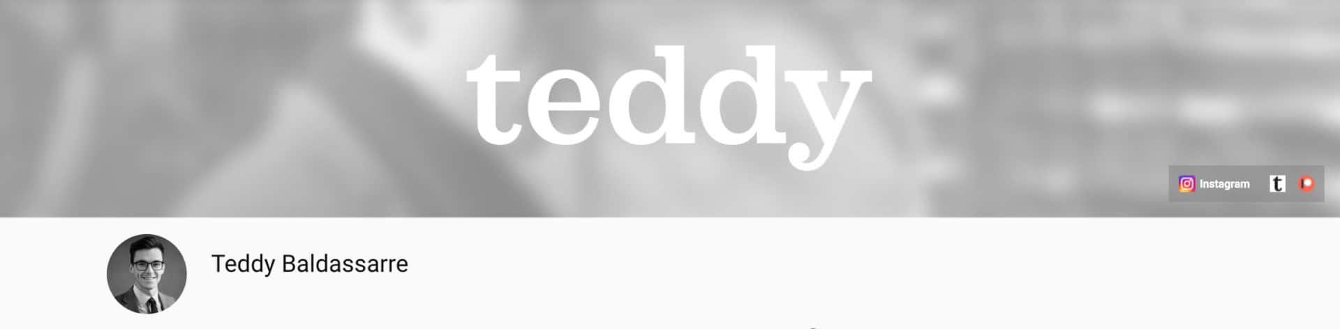yt teddy baldassarre
